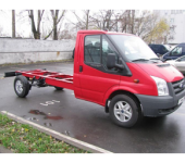 Новый фургон от Ford − 2014 Ford Transit Chassis