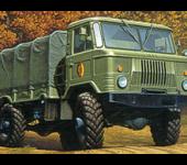 Газ-66 - грузовик повышенной проходимости